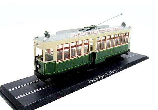 1:87 Scale Atlas Motrice Type 500 CGPT 1907 Tram Model