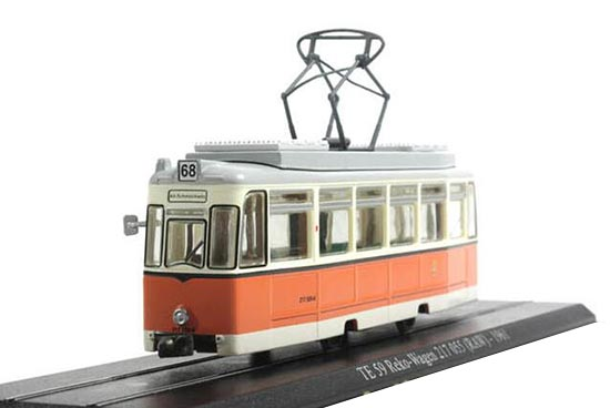 1:87 Scale Atlas TE 59 Reko Wagen 217 055 RAW 1961 Tram Model