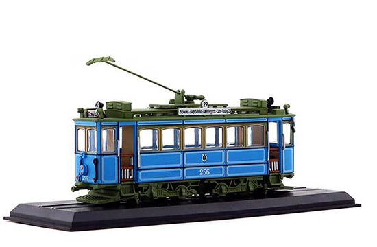 Blue 1:87 Scale Atlas A2.2 Rathgeber 1901 Tram Model