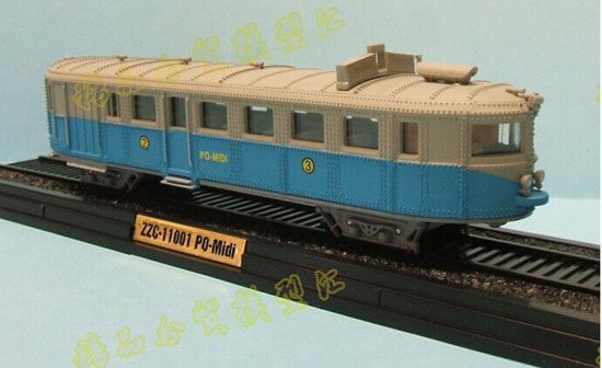 White-Blue 1:87 La Pauline Type 2 Dite Charentaise 1933 Model