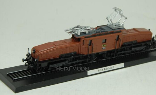 Brown 1:87 Scale Atlas SBB Krokodil Train Model
