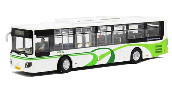 1:50 Scale NO. 888 Die-cast ShangHai Daewoo City Bus model