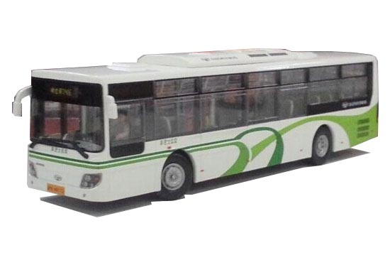 1:50 Scale NO.746 ShangHai Daewoo Die-Cast Bus Model