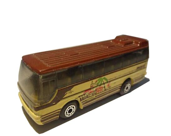 Matchbox Mini Scale Red-Yellow Die-Cast MB170 IKARUS Bus