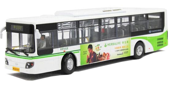 1:50 Scale NO.888 AD. Theme Die-Cast ShangHai Daewoo City Bus