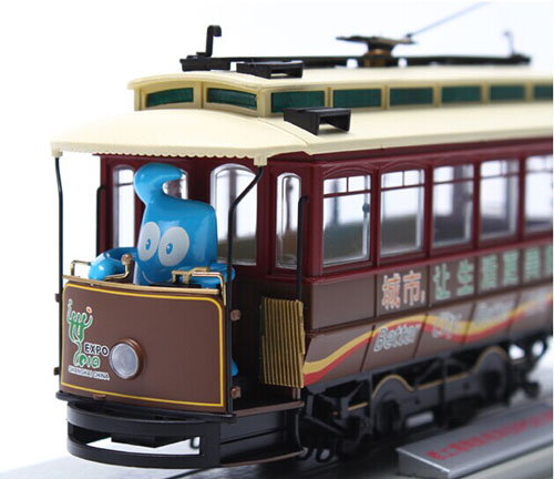 Brown BACHMANN Vintage ShangHai Tram Model