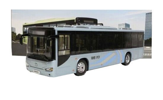 1:42 Scale Golden Drago Die-Cast Higer City Bus Model