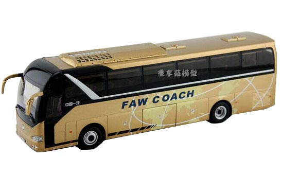 Golden 1:38 Scale Die-Cast FAW Tour Bus Model