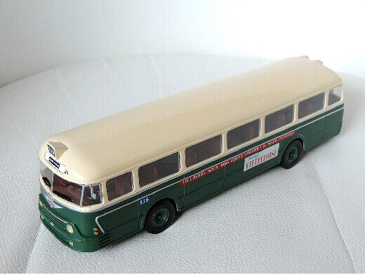 1:43 Scale Altaya Die-Cast Chausson APH2/52 France Bus Model