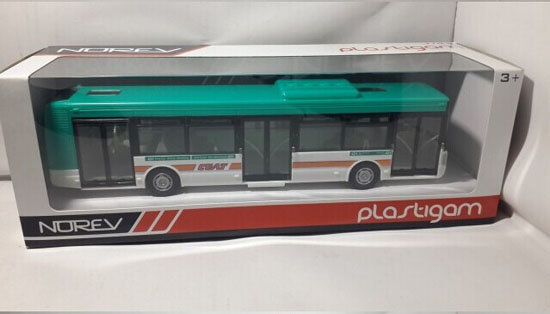 White-Green 1:43 Sale NOREV Irisbus Citelis Bus Model
