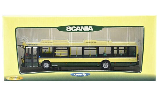 1:76 Scale CMNL Brand Die-Cast Scania Single-Deck Bus Model