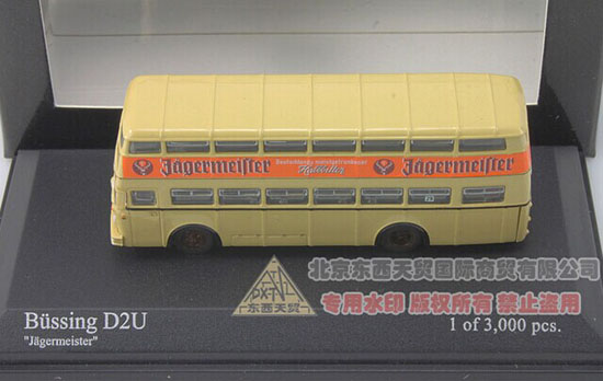 1:160 Mini Scale Minichamps Die-Cast Bussing D2U Bus Model