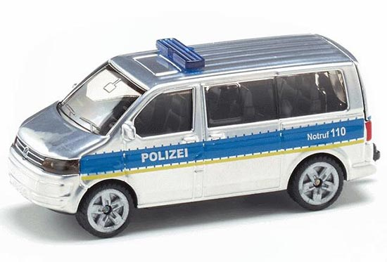 Mini Scale SIKU 1350 Die-Cast 2005 VW Multivan T5 Bus Toy
