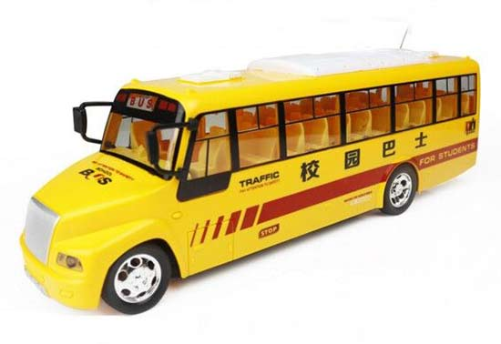 Yellow Kids Full Functions R/C School Bus Toy