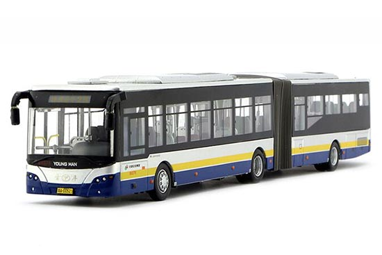 1:64 Scale Die-Cast Articulated NO.2 BeiJing BRT Bus Model