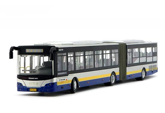 1:64 Scale NO.3 Die-Cast Articulated BeiJing BRT Bus Model