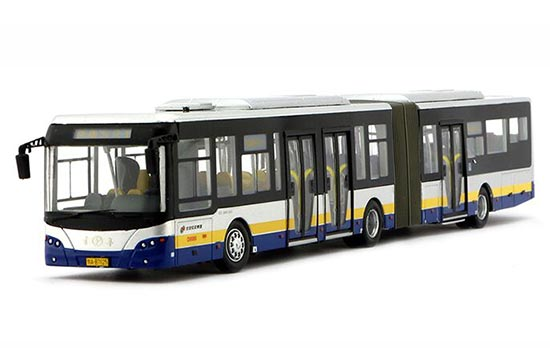 1:64 Scale NO.1 Articulated Die-Cast BeiJing BRT Bus Model