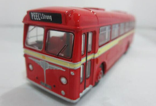 Red 1:76 Scale Die-Cast Dennis Single Decker Bus Model