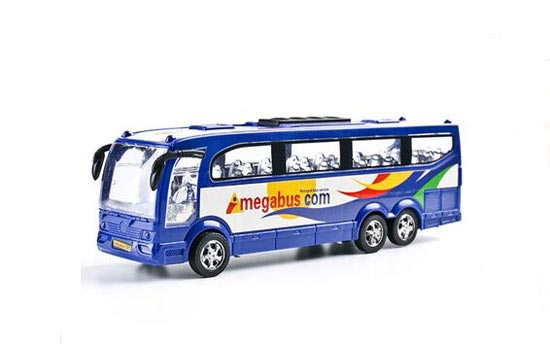 Red / Blue Kids Plastics City Bus Toy