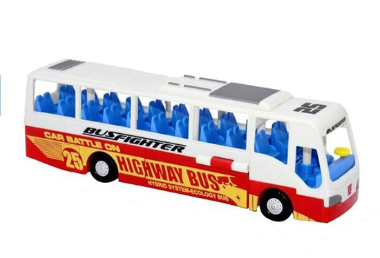 Kids Plastics Transformers Bus Toy