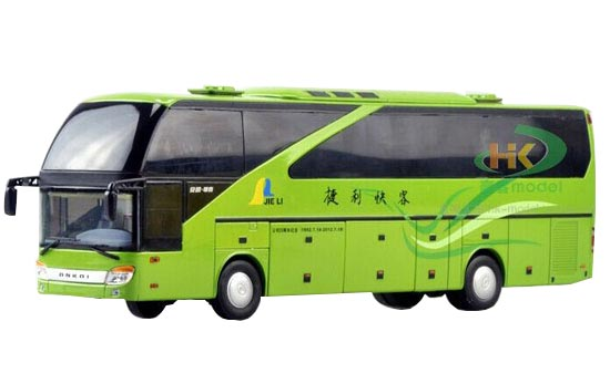 Green 1:43 Scale Die-Cast AnKai Bus Model