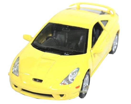 Red /Black /Yellow 1:36 Welly Die-Cast 2002 Toyota Celica Toy