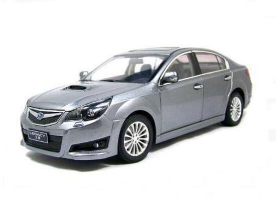 Gray / Wine Red / Black 1:18 Scale Diecast Subaru LEGACY Model