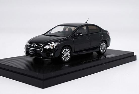 1:43 Scale Black Diecast Subaru IMPREZA G4 Model