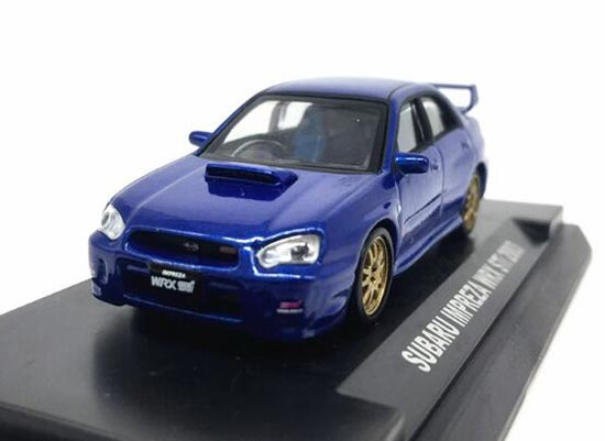 White / Red / Blue / Silver 1:64 Subaru IMPREZA WRX SRI 2003