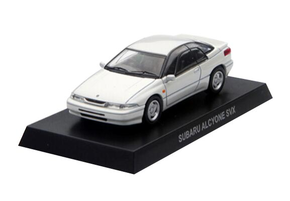 Red / White / Green KYOSHO 1:64 Die-Cast Subaru Alcyone SVX
