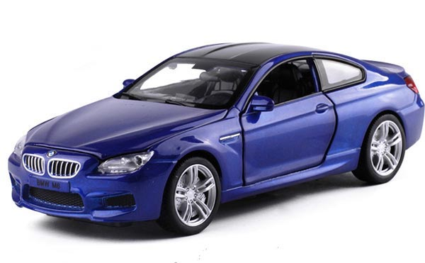 Kids Blue / Red / Silver / White 1:32 Diecast BMW M6 Coupe Toy