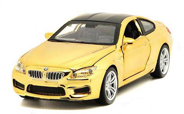 1:32 Scale Purple / Red / Blue / Golden Kids Diecast BMW M6 Toy