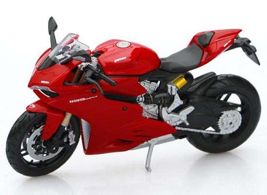 Red MaiSto 1:12 Scale Diecast Ducati 1199 Panigale Model
