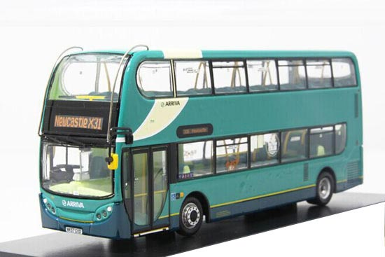 Blue 1:76 CMNL Die-Cast Dennis Enviro400 Double Decker Bus