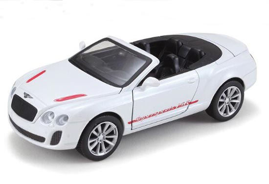 Blue / White / Orange Kids 1:32 Diecast Bentley Continental GT