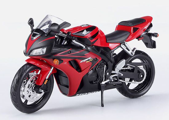 1:12 Scale Red-Black MaiSto Assembly Die-Cast Honda CBR 1000RR