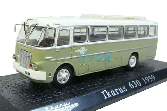 1:72 Scale Atlas Die-Cast IKARUS 630 1959 Bus Model