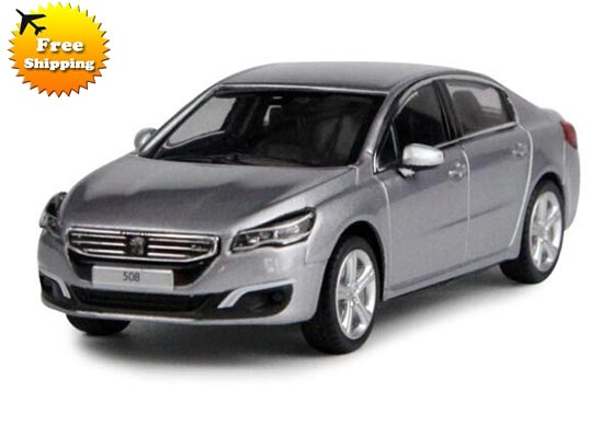 Gray 1:43 Scale NOREV Diecast PEUGEOT 508 Model