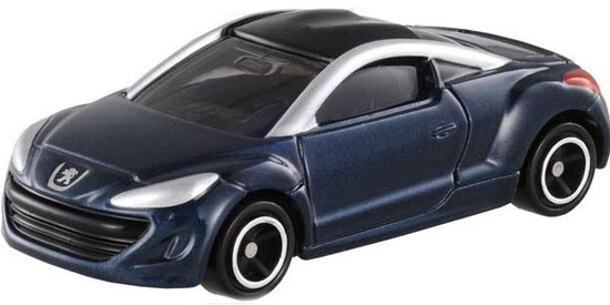 Kids Deep Blue 1:64 Scale TOMY Die-Cast Peugeot RCZ Toy