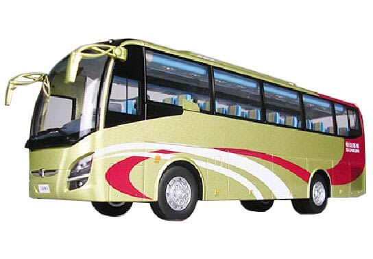 Golden / Silver 1:43 Scale CMNL Die-Cast Sunwin Bus Model