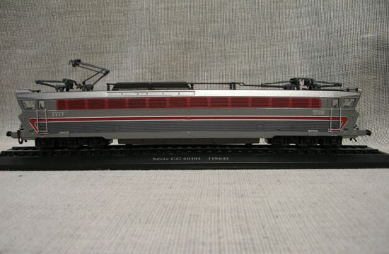 Gray 1:87 Scale Atlas Serie CC 40101 1964 Train Model