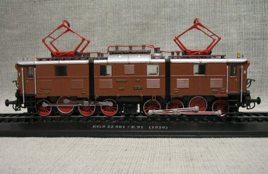 Brown 1:87 Scale Atlas EG5 22 501 / E 91 1926 Train Model