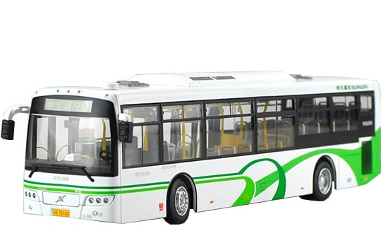 White 1:43 Scale NO.40 Die-Cast Sunwin City Bus Model