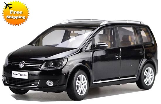 Black / Gray 1:18 Scale Die-Cast VW New Touran Model