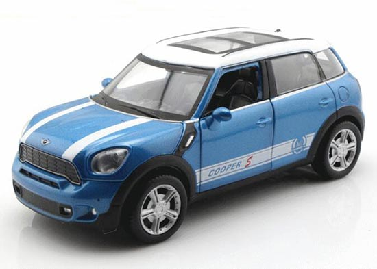 Red /Blue /Yellow /Brown 1:32 Diecast Mini Cooper COUNTRYMAN Toy