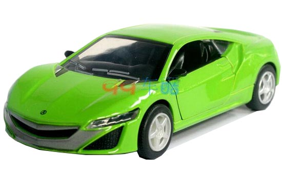 Kids 1:32 Yellow / Red / Green / Pink Diecast Acura NSX Concept