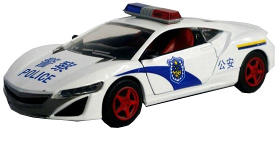 Kids 1:32 Red / Blue / White Diecast Acura NSX Concept Car Toy