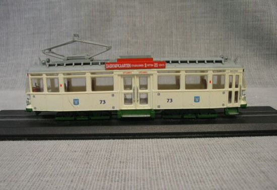 White 1:87 Scale Atlas Geta Beijnes Haarlem -1929 Tram Model