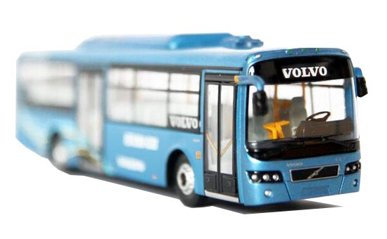 Blue 1:76 Scale CMNL Die-Cast Shanghai Sunwin Bus City Model