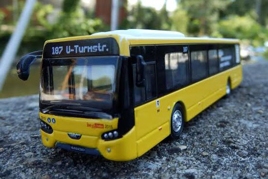 Yellow Holland OTO 1:87 Scale VDL City Bus Model